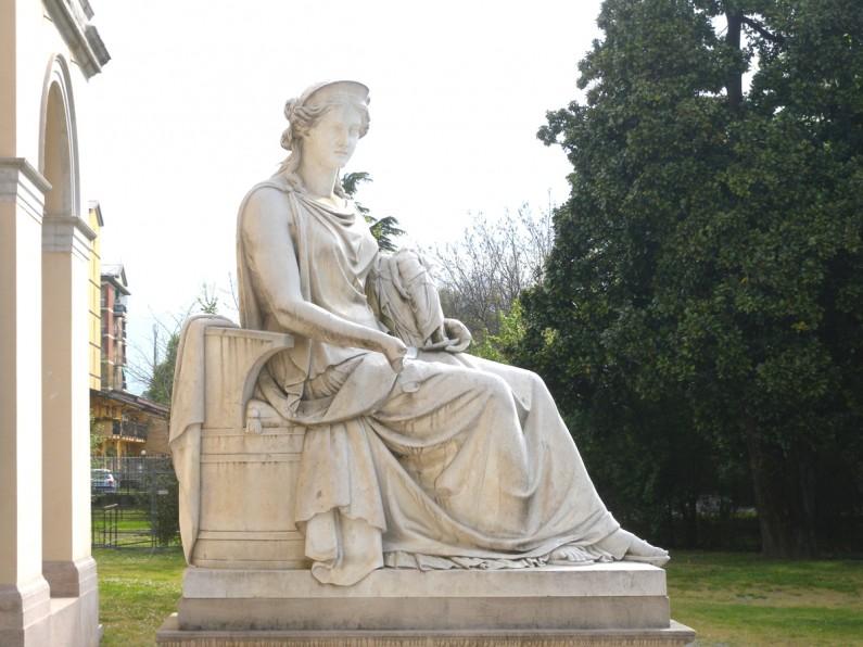 17D La Statua di Pompeo Marchesi raffigurante l'Allegoria dell'OspitalitÖ (1)