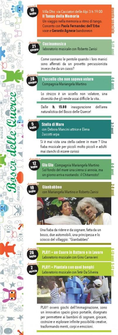 Locandina dell'evento Battiti dal bosco delle querce, 7 (Archivio Bosco delle Querce)