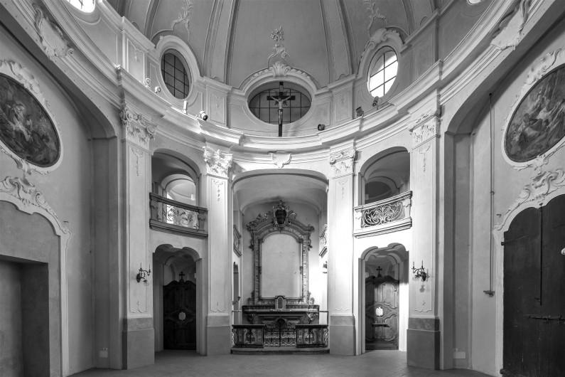 Particolare dell'interno della cappella (Fototeca ISAL-BAMS Photo Rodella)