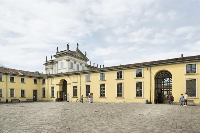 Veduta della Corte della Biblioteca (Fototeca ISAL.BAMS Photo Rodella)