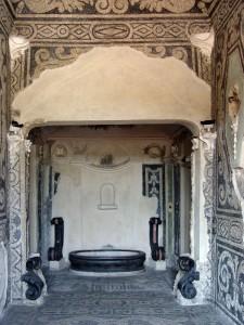 """17CE Saletta a mosaico detta """"dei bagni"""" (1)"""