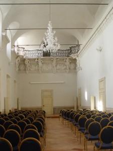 Villa Visconti Borromeo Litta a Lainate, Particolare della Sala della Musica (Fototeca ISAL)