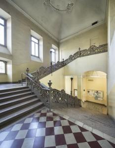 Limbiate, Villa Pusterla, particolare dello Scalone d'onore (Fototeca ISAL-BAMS Photo Rodella)
