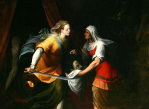Camillo Procaccini, chiesa di Santa Maria del Carmine a Milano, Cappella del Carmine, Giuditta e Oloferne