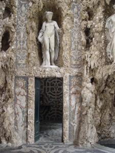 Lainate, Villa Borromeo Visconti Litta, Ninfeo, particolare delle decorazioni interne (Fototeca ISAL).