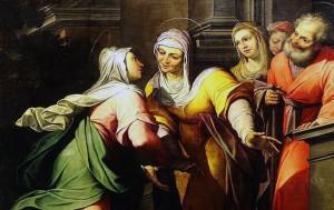 Camillo Procaccini, Duomo di Milano, pale dell'organo (particolare).