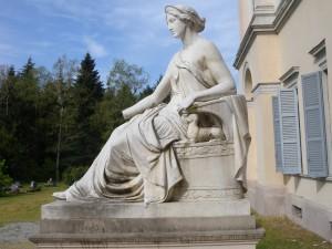 Antonio Galli, Allegoria dell'Amicizia, Villa Cusani Tittoni Traversi, Desio (Fototeca ISAL)