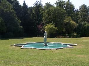 Desio, Villa Cusani Tittoni Traversi, particolare della Fontana di Nettuno (Fototeca ISAL, fotografia di Adele Simioli)